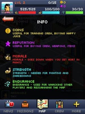 pocket mobsters interface