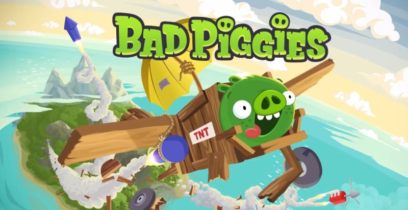 Play Bad Piggies - Angry Birds
