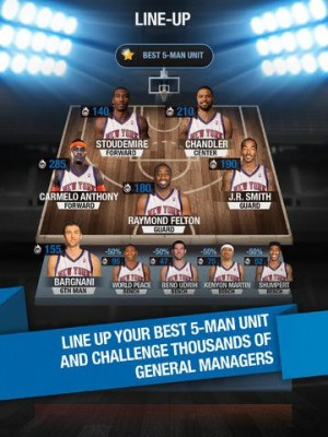 nba manager 2014