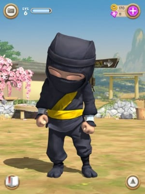 clumsy ninja head stroke