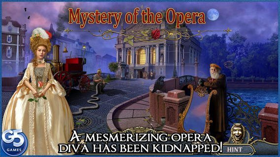 Game reviews mystery of the opera hd review ios mystery of the opera