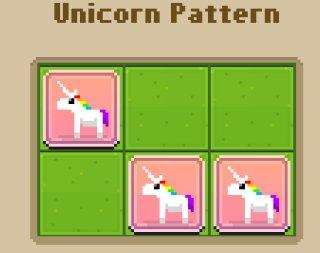 Disco Zoo animal patterns - Farm Unicorn