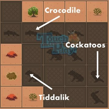 Disco Zoo animal patterns - Outback1