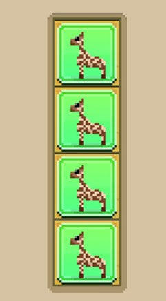 03 disco zoo pattern savanna giraffe
