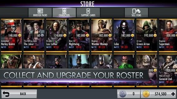 injustice gods among us gets updated on ios survivor