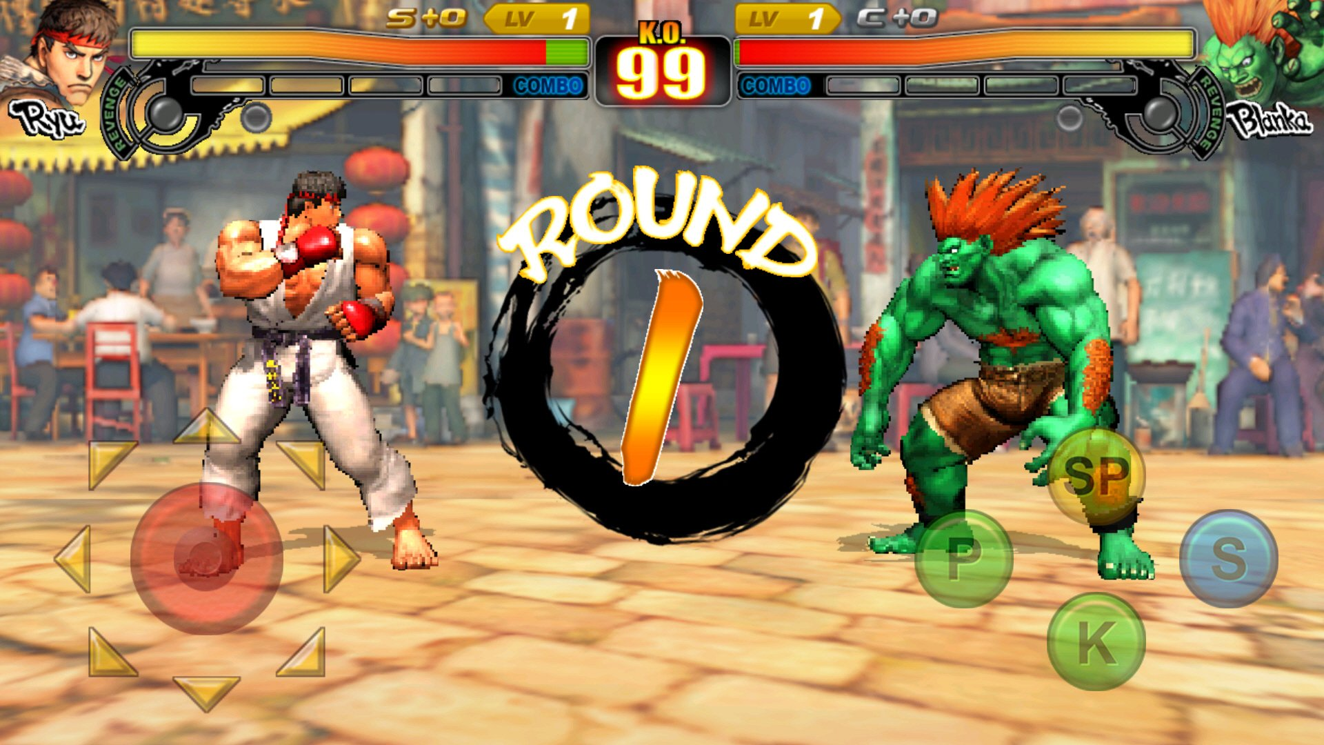 Online Play Street Fighter Game
