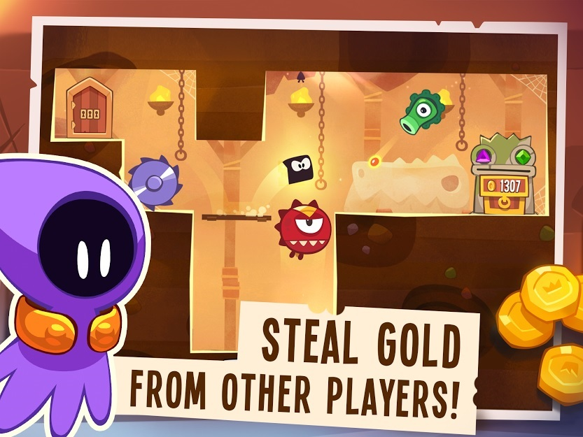 King Of Thieves The Unique Platform Game Developed By Zeptlolab Released On The App Store Earlier This Year Has Received A New Update Which Adds A New