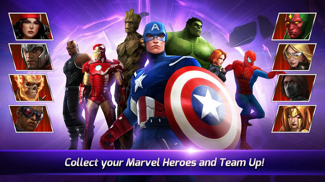 marvel future fight new update includes new characters from secret