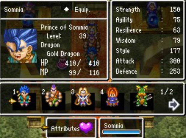 Dragon Realms Characters Dragon Quest vi Realms of