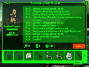 fallout shelter wasteland exploring