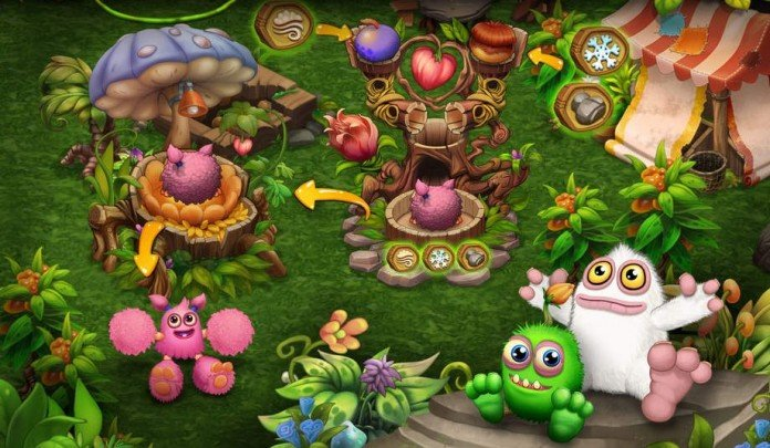 My Singing Monsters Dawn Of Fire Breeding Guide How To Breed All Monsters Touch Tap Play