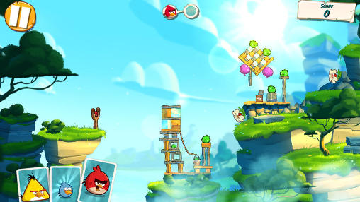 No denying Angry Birds 2's visual beauty.