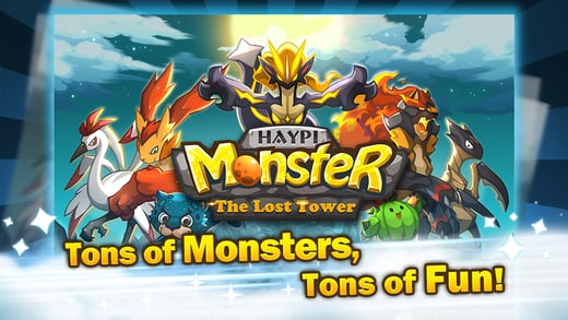 Haypi Monster The Lost Tower