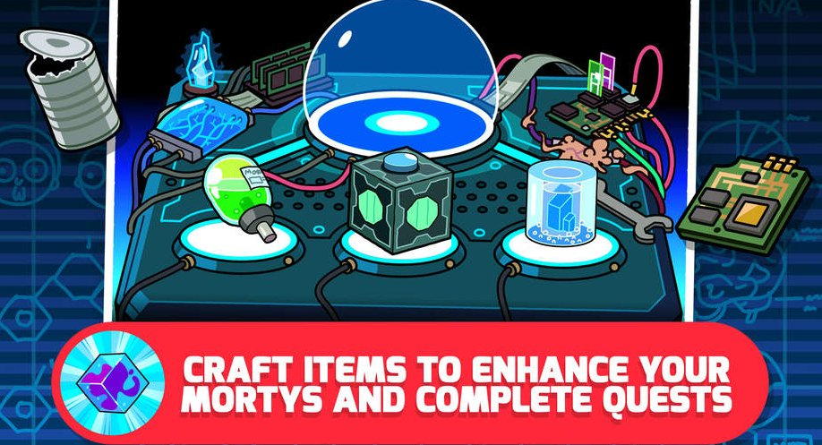 Here Are All the Pocket Mortys Recipes for Crafting All Items in the Game | Touch Tap Play