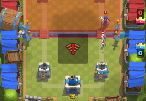 clash royale connnection problems