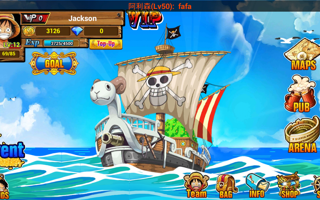 Will Of D Is A Turn Based Strategy RPG That Features Characters On The Hit Anime One Piece Become King Pirates And Recruit Swashbucklers From