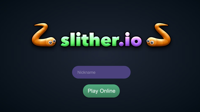 in slither io play game
