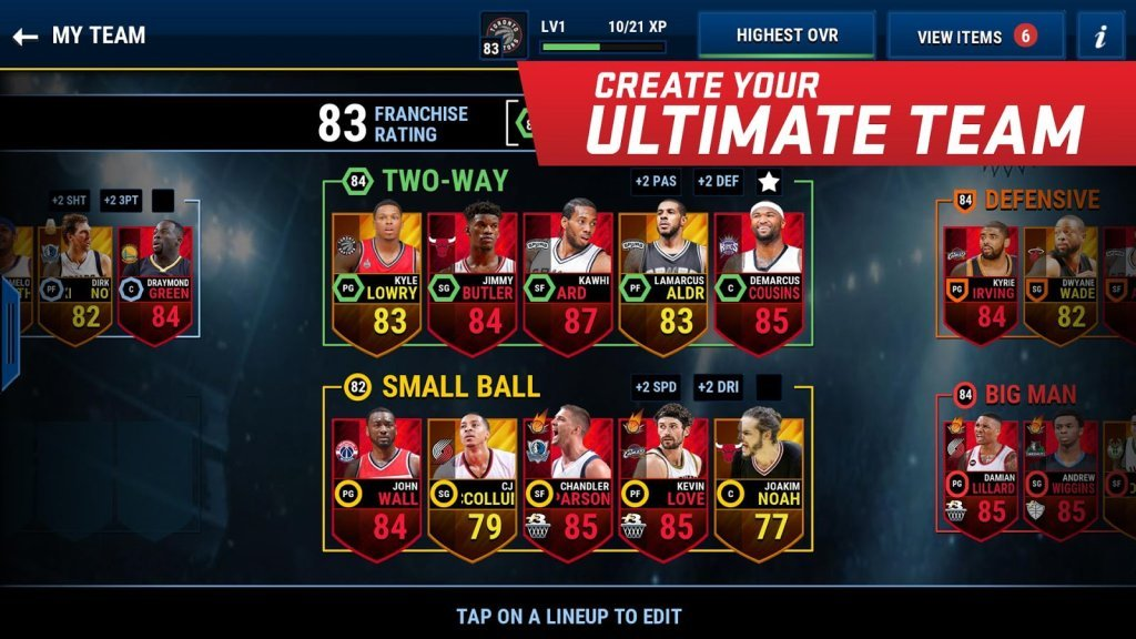 NBA Live Mobile Cheats: Tips