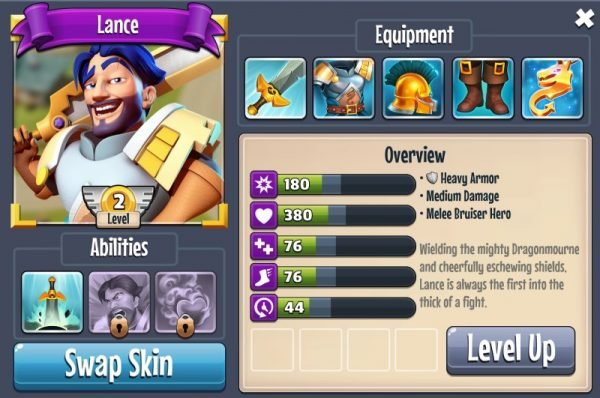 castle creeps lance guide
