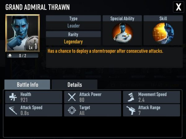 star wars force arena admiral thrawn