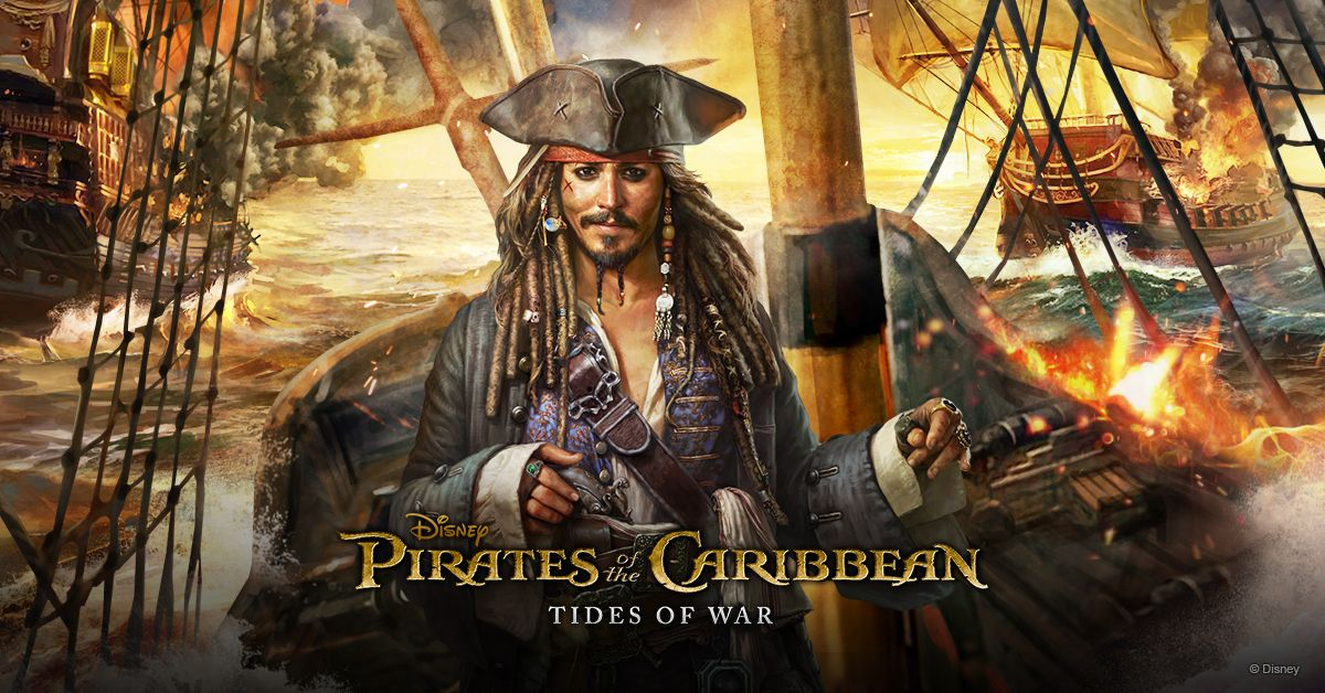 Hasil gambar untuk Pirates of the Caribbean: Tides of War android