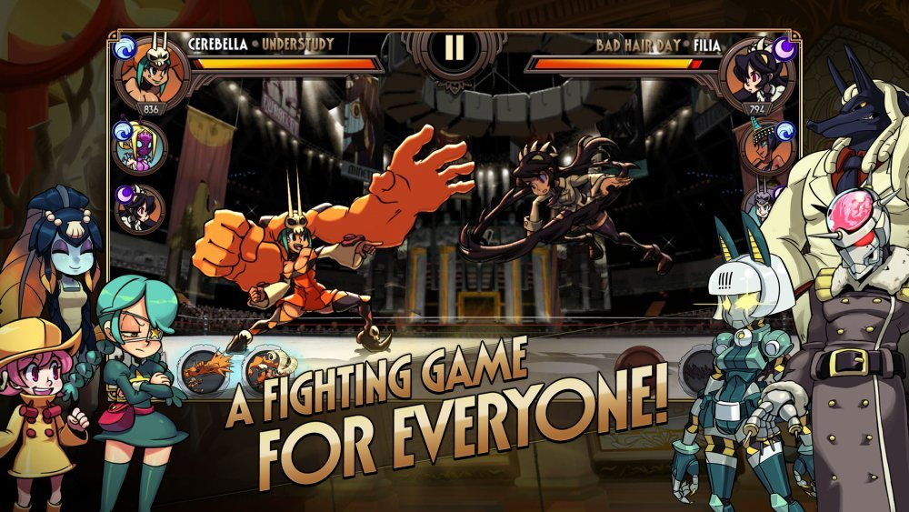 The mobile version of the highly popular fighting game SkullGirls ...