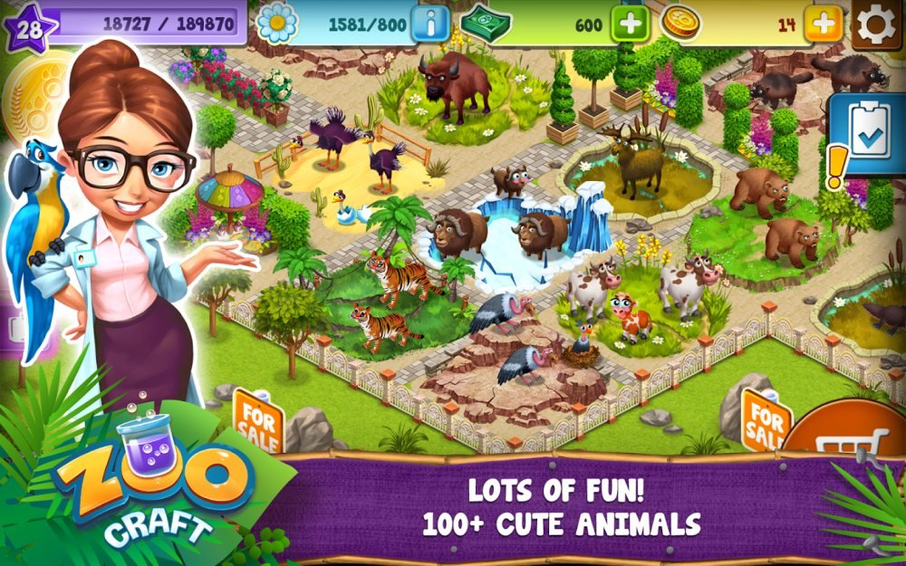Zoo Craft Cheats