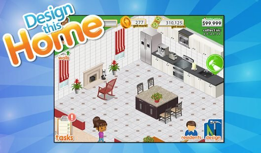 Best mobile games like design home to test your interior designer skills touch tap play for Home design games free download