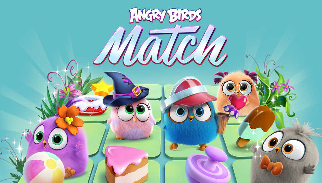 ApkMod1.Com Angry Birds Match v1.7.0 + (80 Moves/Unlimited Lives/Coins/Gems & More) download free Android Game Puzzle