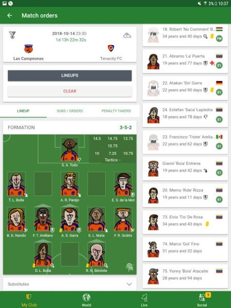 Hattrick Football Manager Game Mobile