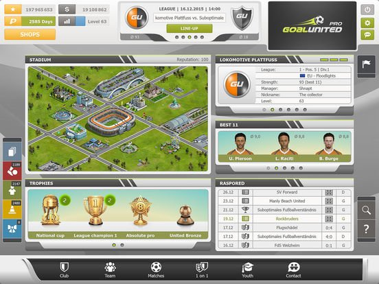 Best Football Managements Games for Mobile (Games Like Football