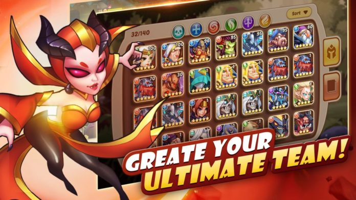 Idle Heroes: How to Get 5 Star Heroes in the Game? | Touch