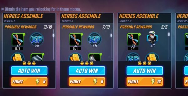 Marvel Strike Force: How to Level Up Fast in the Game
