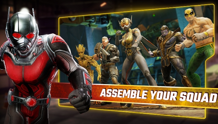 Ant-Man Shrinks Into Action In New Marvel Strike Force