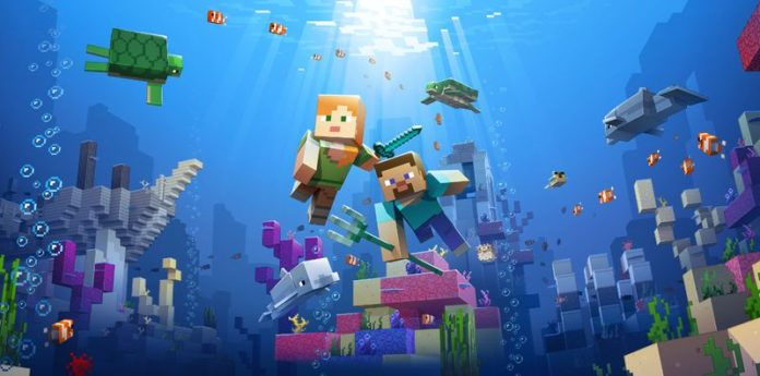 Minecraft's Update Aquatic Introduces a Whole New Underwater