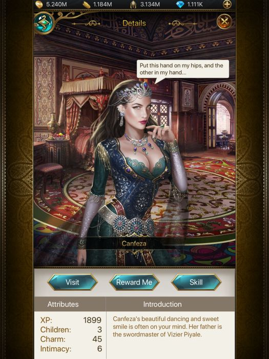 Game Of Sultans Consorts Guide How To Get All Wives In The Game And More Touch Tap Play