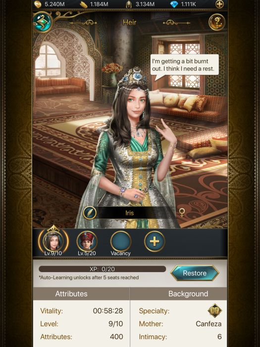 Game Of Sultans Heirs Guide Player Id Sharing For Marriage Touch Tap Play