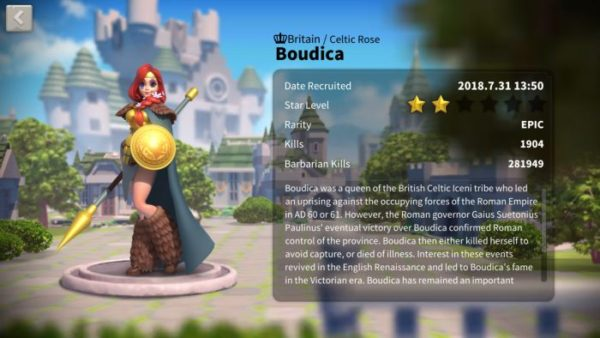 Rise of Kingdoms Commanders Guide & Best Commander in the