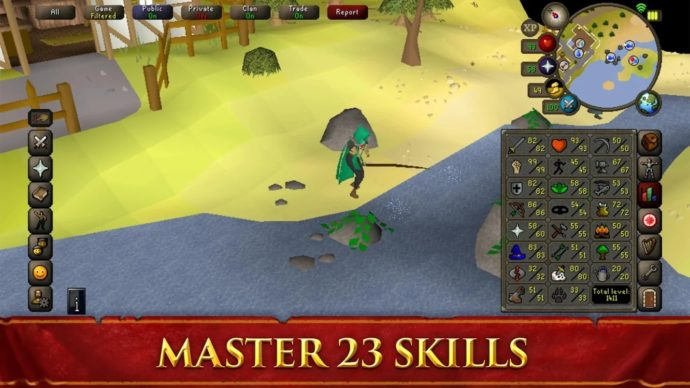 Old School RuneScape Brings the Iconic MMORPG to Mobile