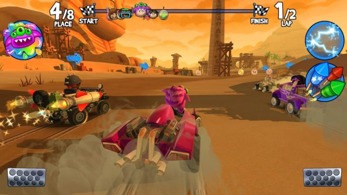 Beach Buggy Racing 2 Races Onto iOS and Android | Touch Tap Play