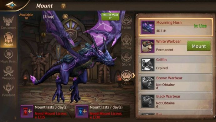 Capture Your Most Desired Fantasy Beasts in Era of Legends