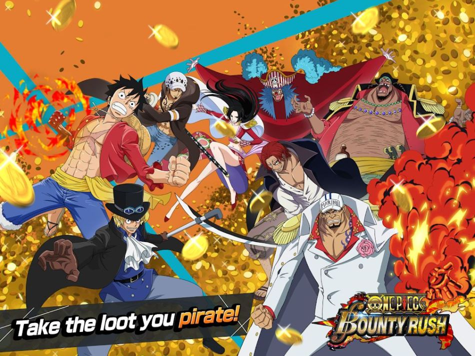 One Piece Bounty Rush Best Heroes | Touch Tap Play