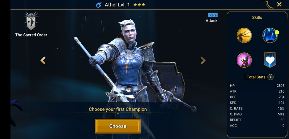Raid: Shadow Legends: Best Starting Hero to Choose at the