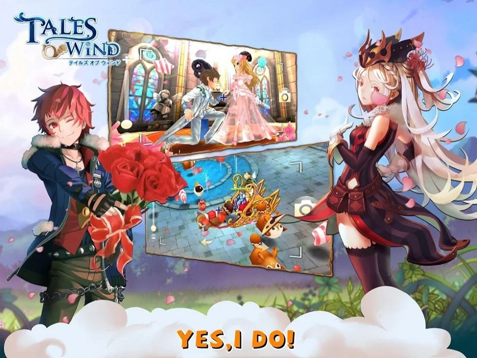 Epic Anime MMORPG Tales of Wind Has Just Opened Pre