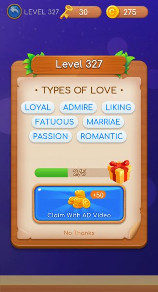 Word Swipe Answers Level 301 350 Touch Tap Play