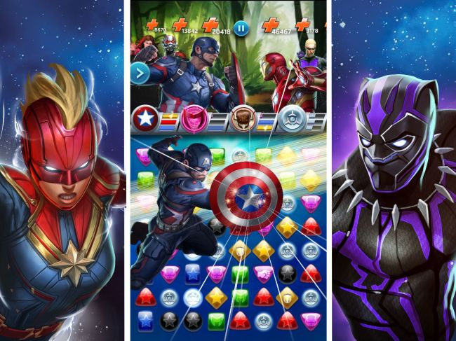 MARVEL Puzzle Quest Match 3 game