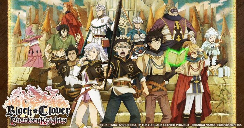 rpg black clover phantom knights announced for ios android touch tap play. Black Bedroom Furniture Sets. Home Design Ideas