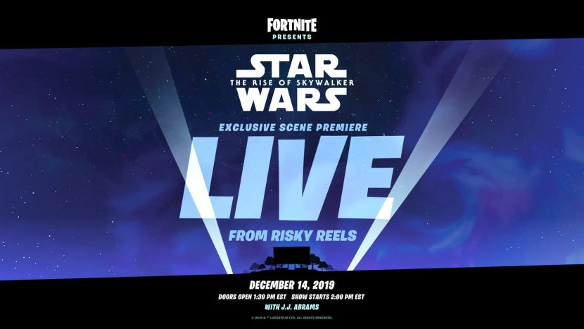 Fortnite Star Wars Live Event To Premiere Scene From Rise ...