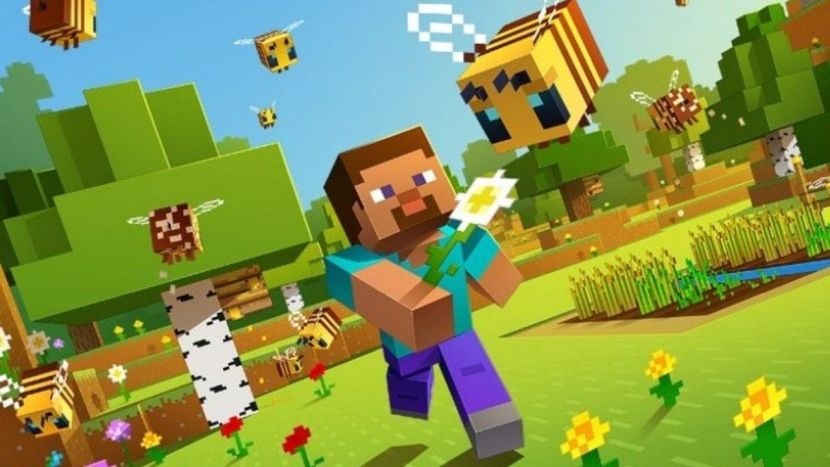 minecraft buzzy bees update now live on nintendo switch touch tap play. Black Bedroom Furniture Sets. Home Design Ideas