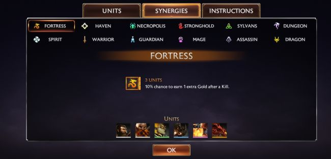 Might & Magic Chess Royale Synergies